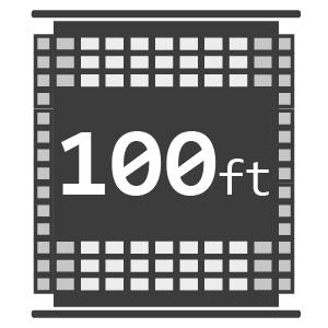100ft Reels