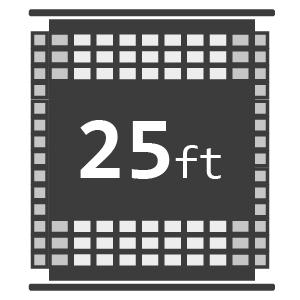 25ft Reels