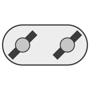 Contra-Rotating (Swinging Blades)