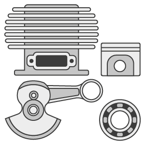 Engine Rebuild Kits & Short Blocks - 2/Stroke