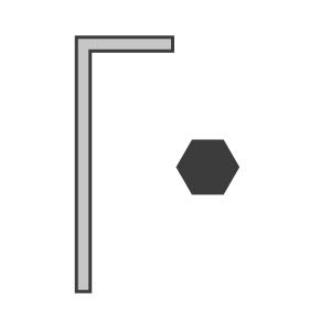 Hexagon Keys