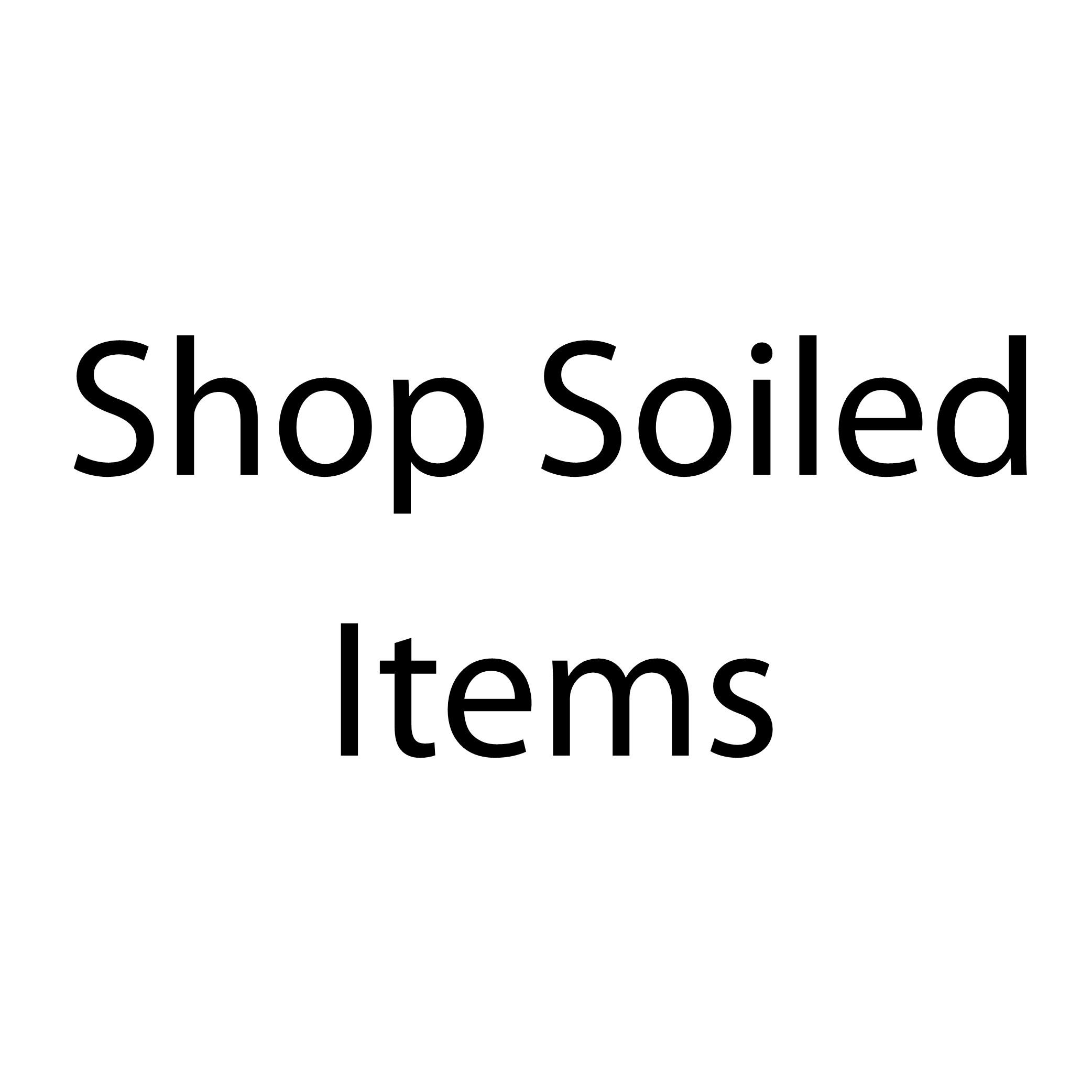 Clearance Shop Soiled